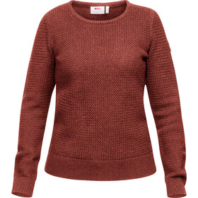 Fjällräven Övik Structure Sweater Women terracotta pink